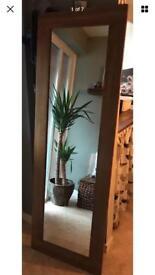 Solid Oak Mirror 1800mm x 600mm