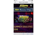 Summer Soulstice Ticket Standard