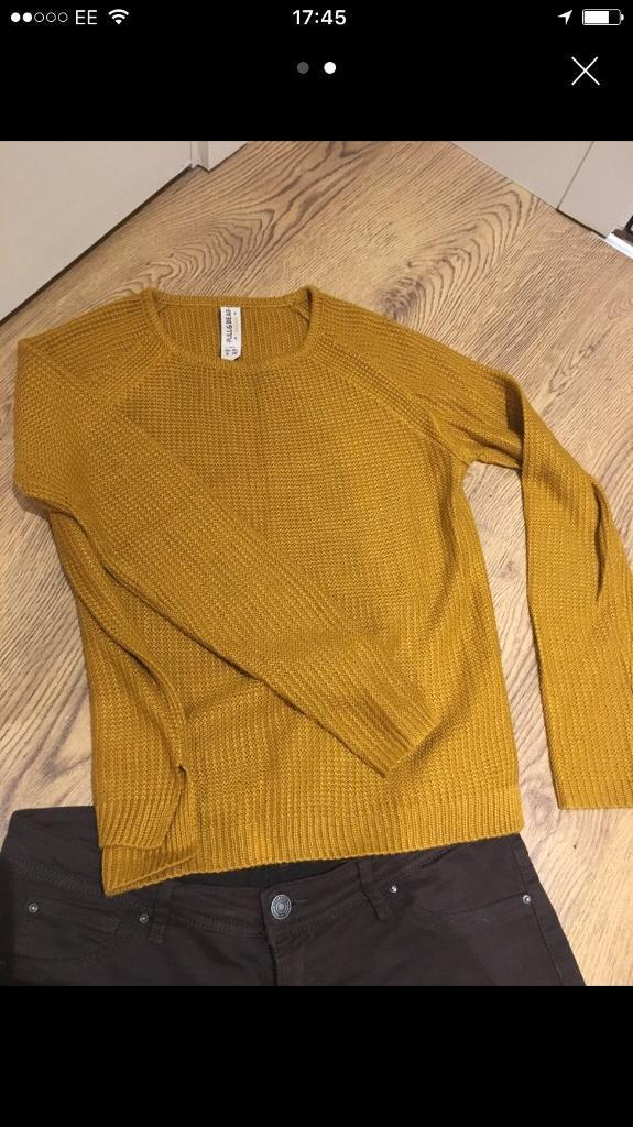 Pull and bear jeans and jumper