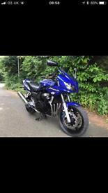 Yamaha FZS600 fazer with brand new MOT