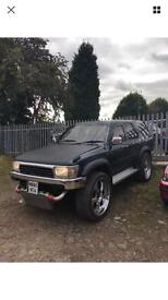 "Toyota Hilux Surf 3.0 TD 4X4 24"" chrome alloys auto modified tuned engine px welcome"