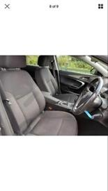 Vauxhall insignia seats and door cards