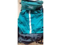 Dana Designs arcflex terraplane backpacking backpack 5000 cu ft, used 2-3x; excellent condition