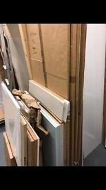 Assorted Kitchen Cabinets, Cupboard Doors. NEW
