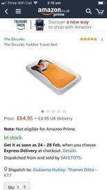 The shrunks travel bed