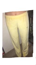 Yellow Nike Joggers
