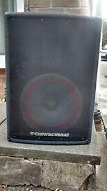 "Cerwin Vega USA, PA/Disco Cab 12"""