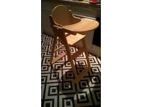 Wooden high chair by mothercare