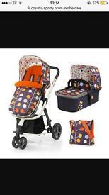cosatto spotty pram mothercare for sale £100