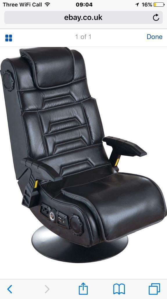 X rocker pro gaming chair 2.1 wireless (mint) PS4 XBoxOne any console or PC