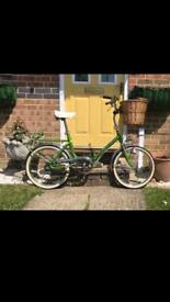 Vintage Cinzia Folding Bike