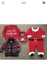 Baby boys 6-9 months Christmas bundle