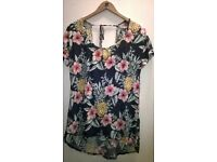 lovely fat face ladies top brand new
