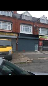 Shop for rent. Station Road, Stechford, B33.