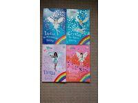 4-Rainbow Magic Books Good condition