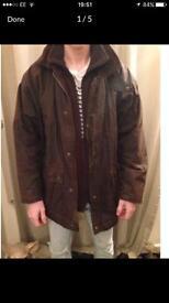 Mens Wax Jacket / Coat. Country clothing