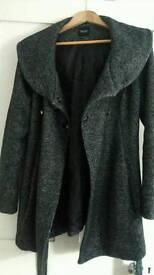 Maternity coat size 10 Newlook