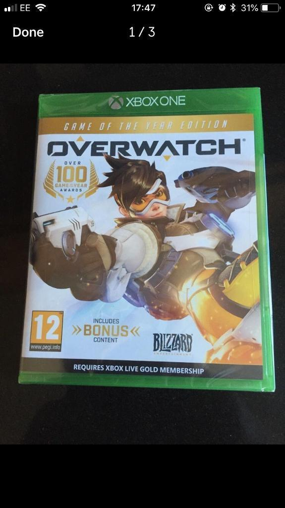 Overwatch Xbox one game of the year edition new and sealed | in Coventry,  West Midlands | Gumtree