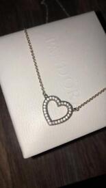 loving hearts of pandora necklace, BRAND NEW!