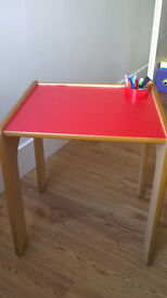 Child's desk, will suit for a child up to 4-5 years old.