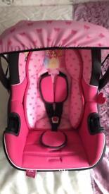 Car seat - Disney princess.