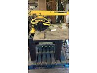 Dewalt 729 Radial Arm Saw