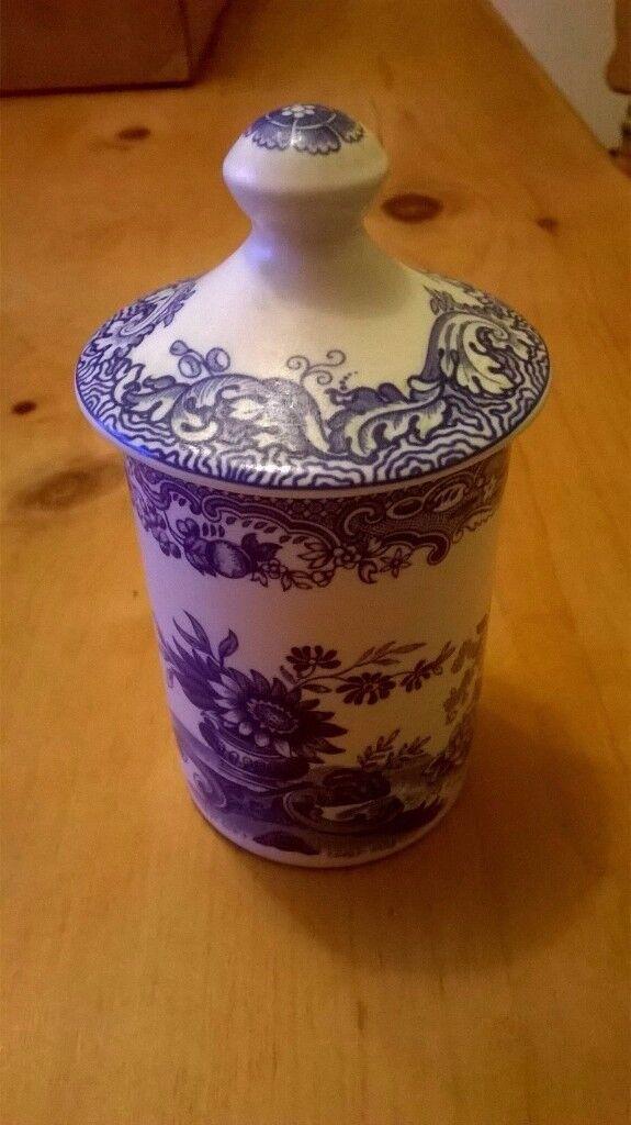 4 Spode Spice Jars £6 Each