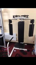 Gym equipment Peck Dec machine