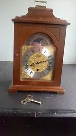 Mantle piece clock.