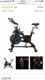 Lean Exercise Tilting Bike