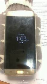 Samsung galaxy s7 edge 32g, gold