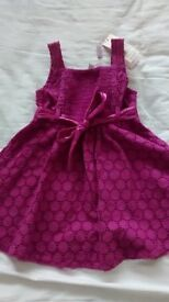 Purple Dress by Monsoon (12-18 months) was £36 new