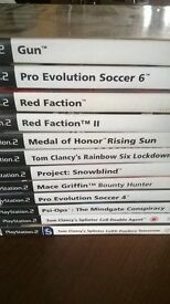 PS2 games £5 the lot