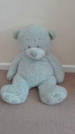 Big Blue Soft Teddy