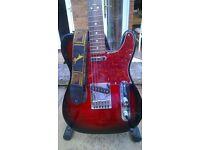 Fender Squier Telecaster (standard series) 2009 model + extras