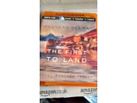 AUDIO BOOK (MP3 - CD) THE FIRST TO LAND by DOUGLAS REEMAN