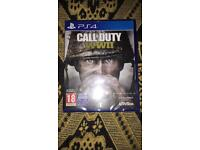 Call of duty WW2 ps4 game brand new sealed