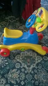 For Sale pre school ride on electronic trike