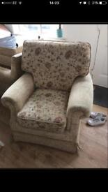 Free armchairs. 3 Armchairs for free. Collection only from near Pride Park Derby