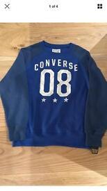 Boys Converse Sweatshirt Age 12-13 years