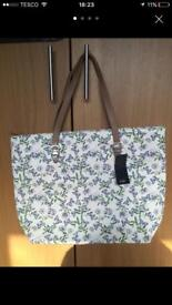 Brand new fabric tote bag