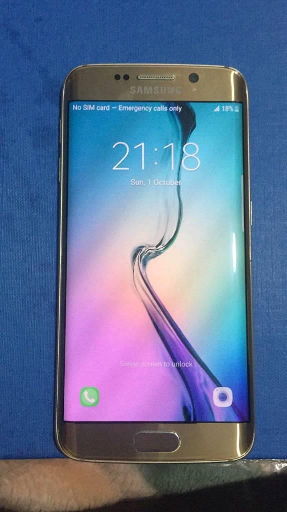 Samsung galaxy s6 edge unlocked MINT