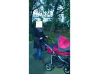 3 in 1 pushchair in good condition
