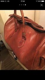 Mans leather bar