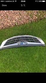 Subaru wrx grill