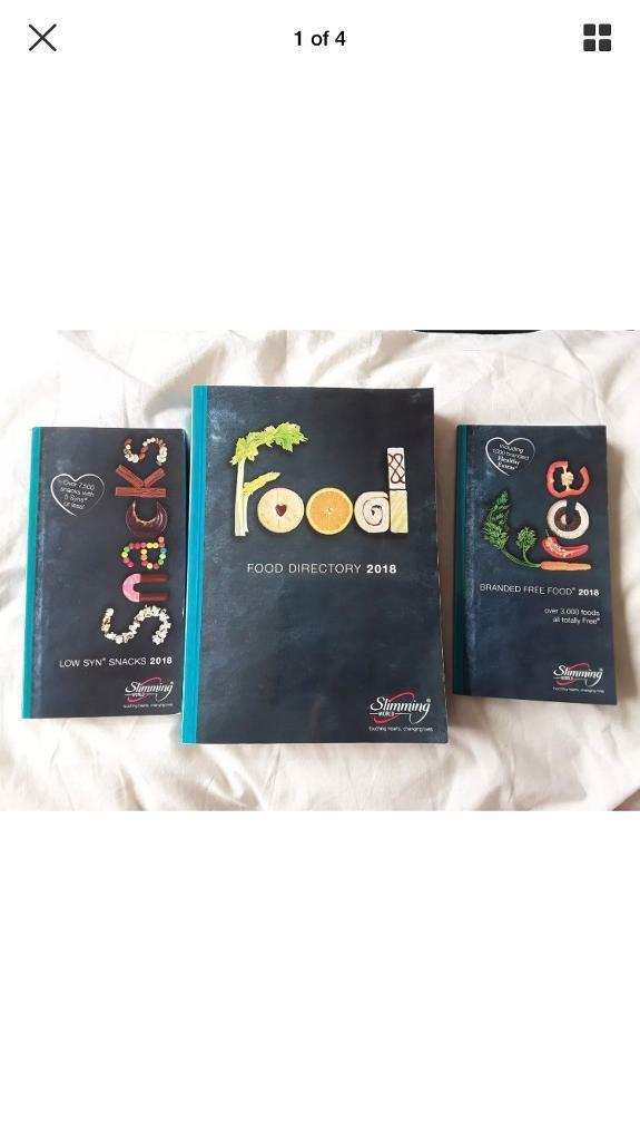 Slimming World Directory And Syn Books 2018 New In Yate Bristol