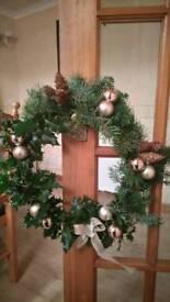 Christmas wreath Handmade 100%natural!!!