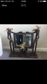Vodoo African Art mirror