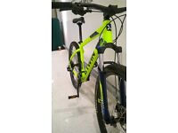 2016 B'TWIN ROCKRIDER 520 DOUBLE DISC 24-SPEED BIKE BICYCLE - AS NEW, IMMACULATE CONDITION