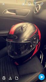HJC helmet nearly new